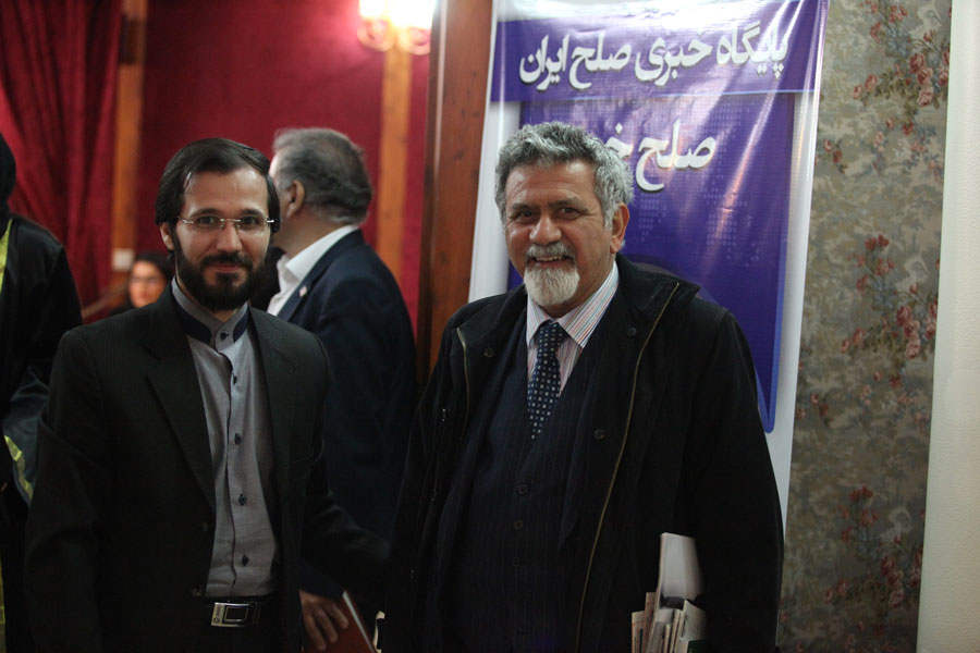 پروفسور امین حقوقدان برجسته ایران سال 1394 مهندس حسینی