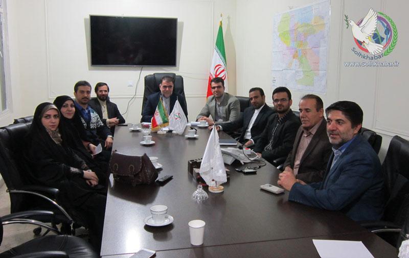 دیدار با کانون اقوام و طوایف ایران