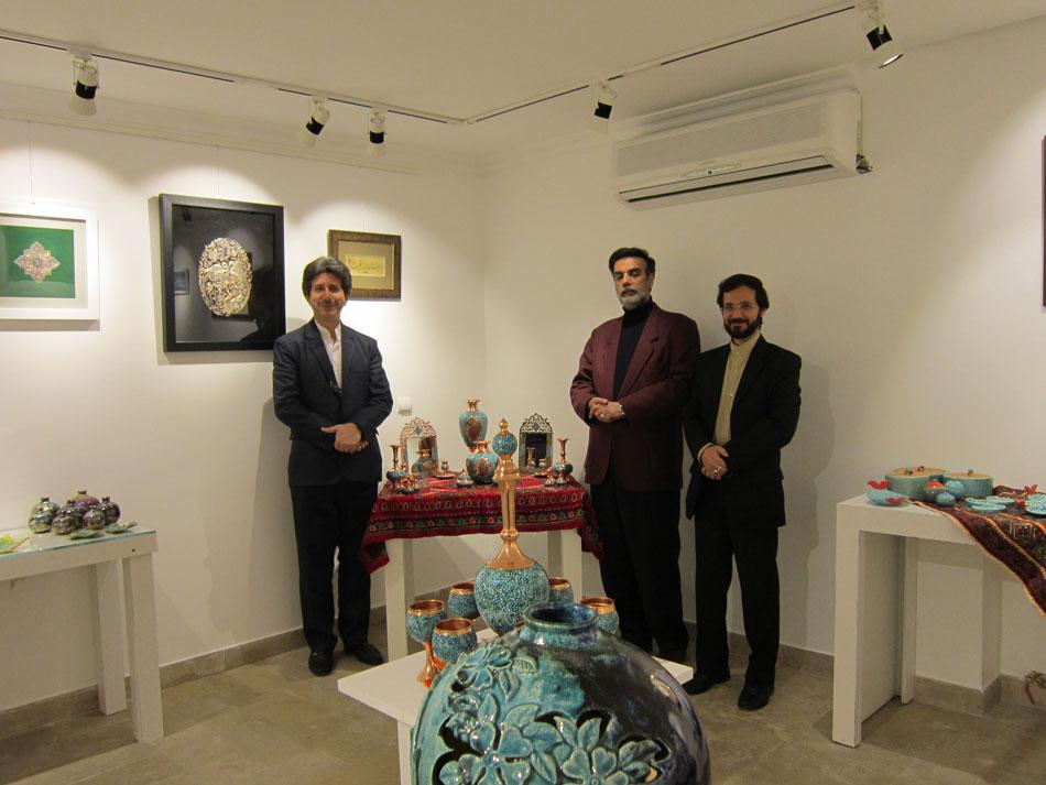 بازدید نمایشگاه هنرهای دستی آفرینش مهندس حسینی