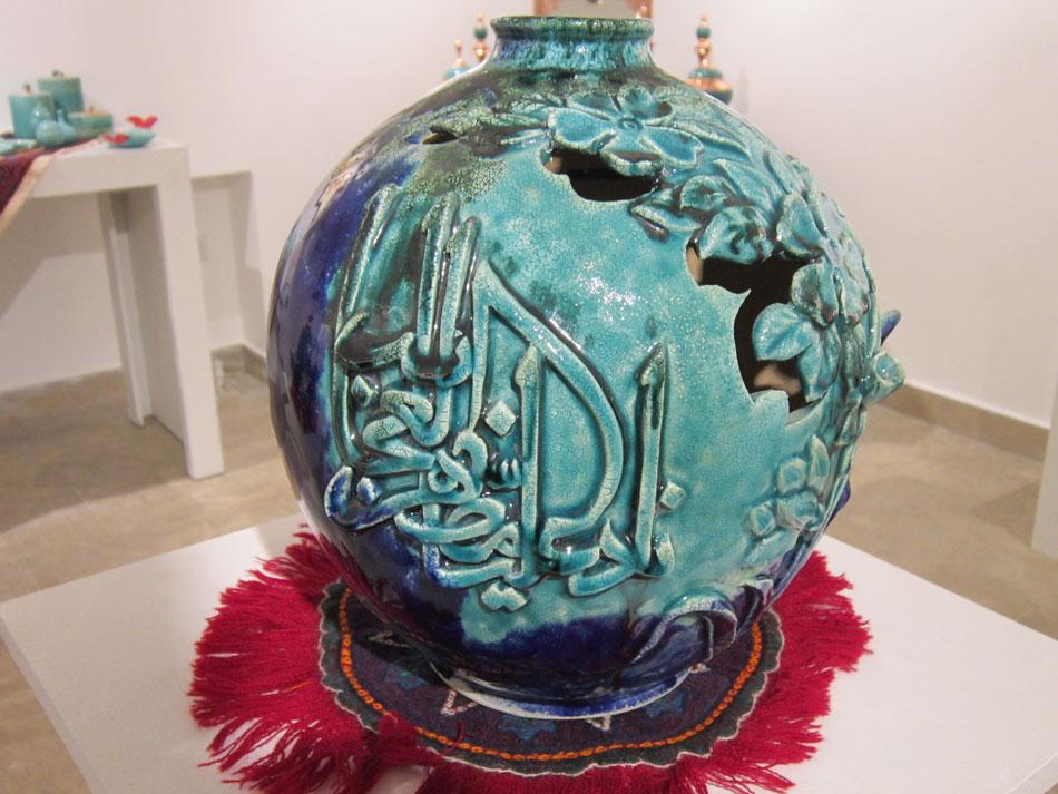 بازدید نمایشگاه هنرهای دستی آفرینش