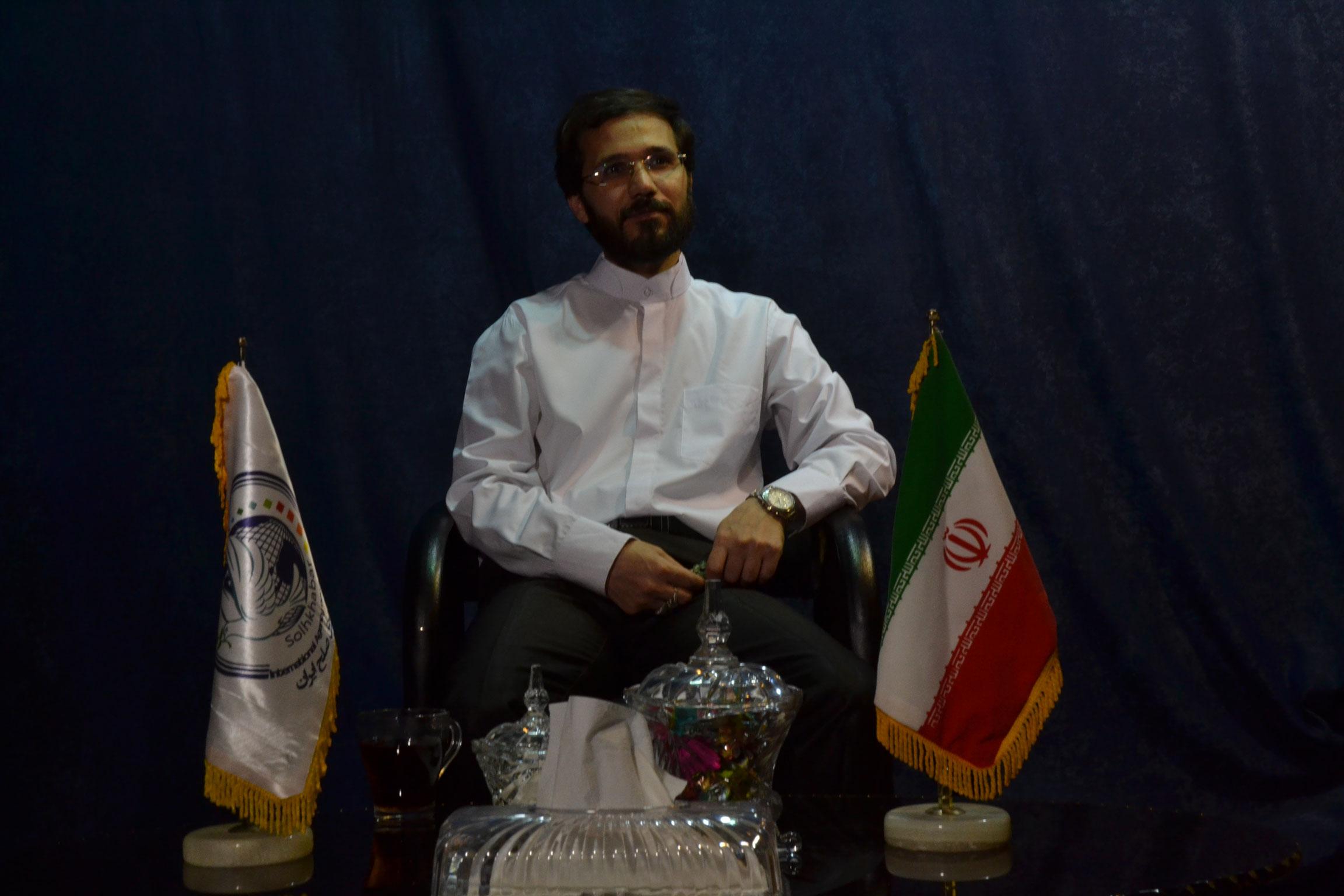 گفتگو خبرگزاری صلح با مهندس حسینی